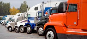 The Worst States For Truck Parking